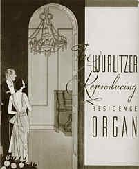 Wurlitzer Reproducing Residence Organs